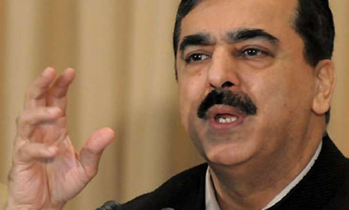 judiciary and army should work within limits gilani