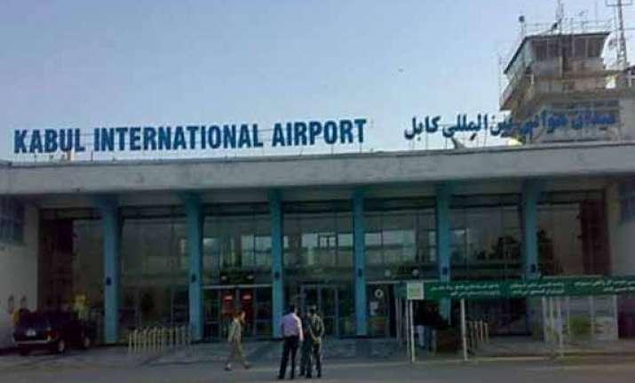 kabul airport attacked five taliban militants killed