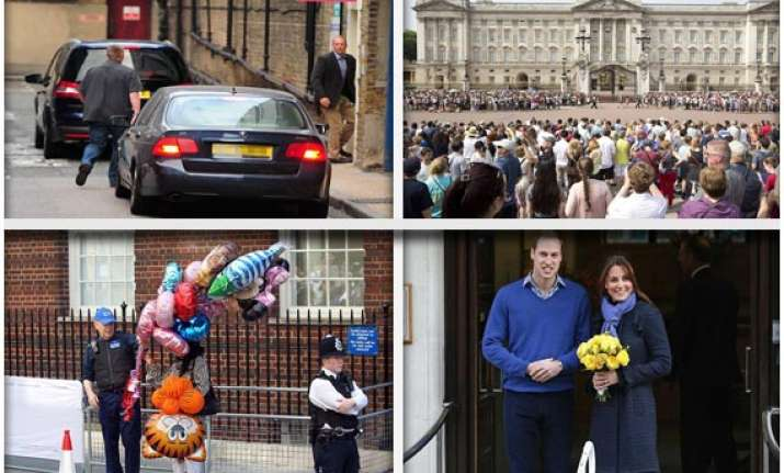 kate middleton gives birth to a boy third in line to