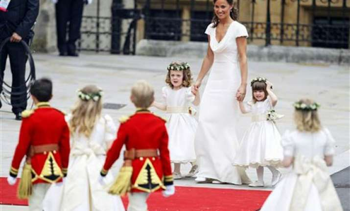 kate s sister pippa stole the show
