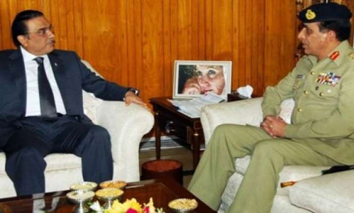 kayani absent at dinner hosted by zardari