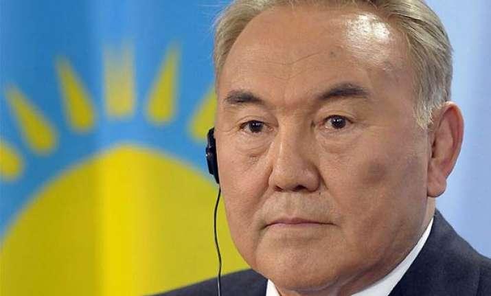 kazakh strongman scores landslide win