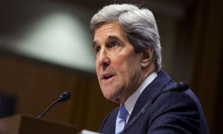 kerry us will stay the course despite shutdown