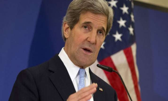 kerry blasts syrian forces over bombing in aleppo
