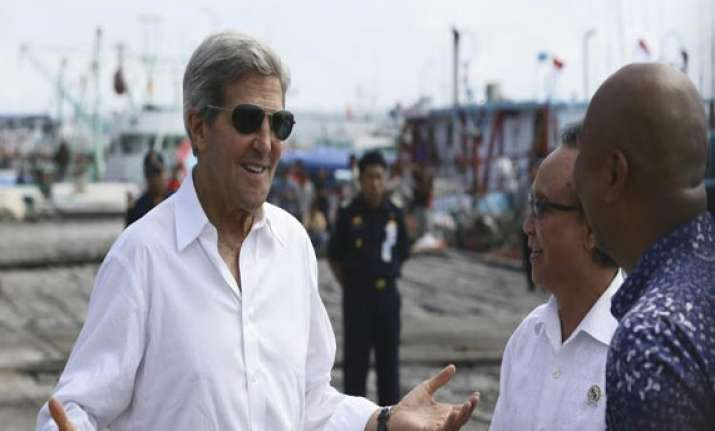 kerry pleased with syria chemical disarmament