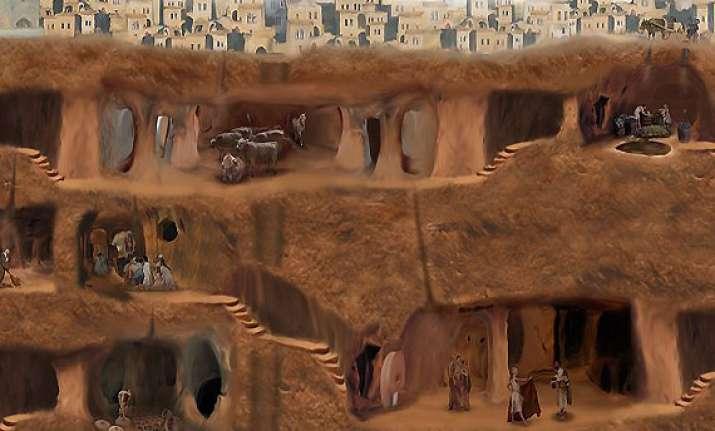 know about fascinating underground city of turkey derinkuyu