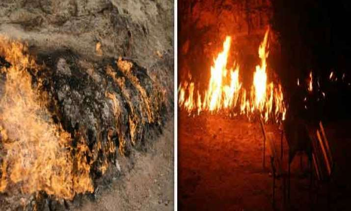 know about the mysterious fire mountain yanar dag watch pics