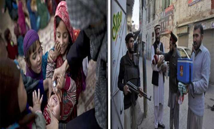 know how pakistan is going ahead with polio drive despite