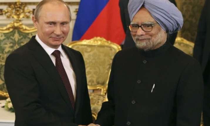 kudankulam defence energy top manmohan putin talks