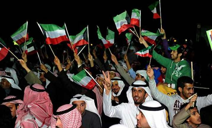 kuwait emir dissolves parliament state tv