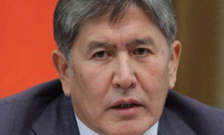 kyrgyzstan swears in new president