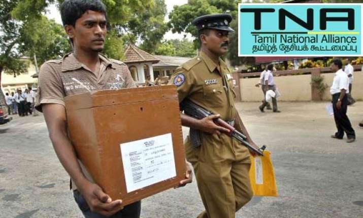 ltte s once political arm sweeps polls in north sri lanka