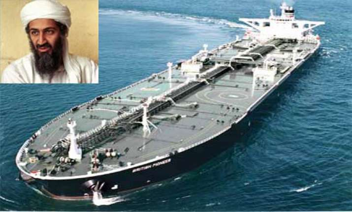 laden was planning to hijack blow up oil tankers