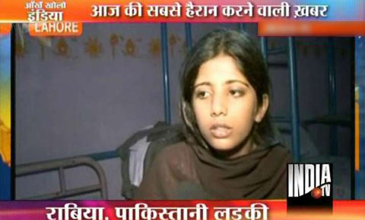 lahore girl s lie nailed she told police she s from india