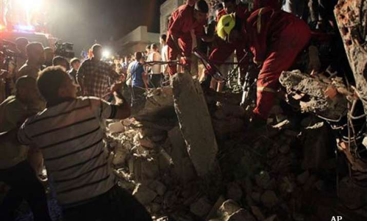 libya says 9 civilians killed in nato airstrike