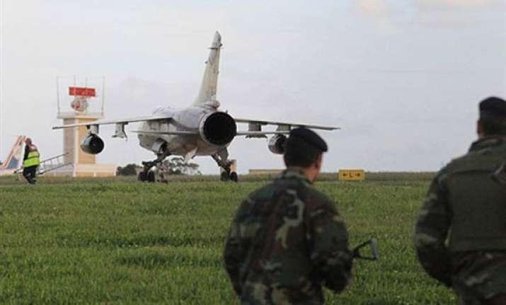 libyan pilots diplomats defect