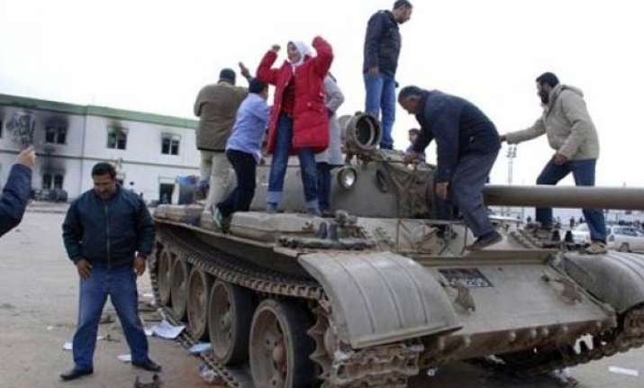 libyan protesters defiant after gadhafi speech
