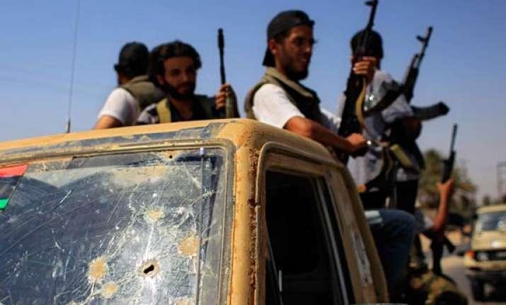libyan rebels reject regime offer to talk