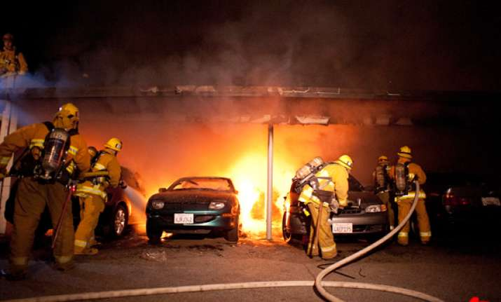 los angeles arson spree 24 year old arrested