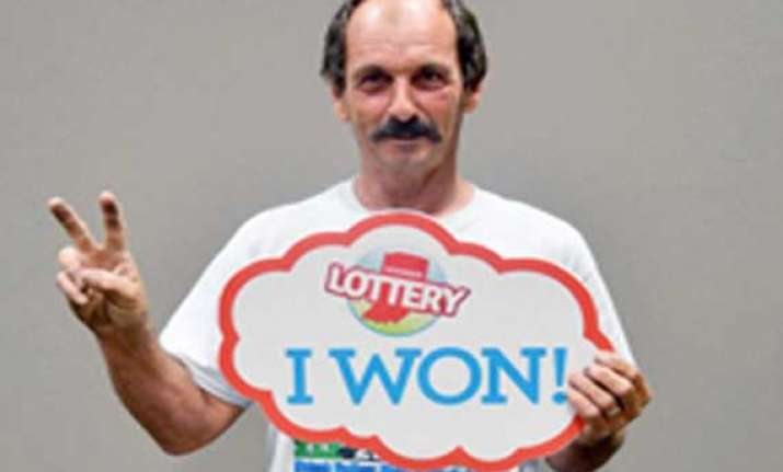 luck of the draw man wins two 1 million lottery prizes in