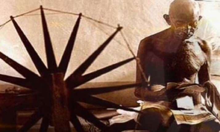 mahatma gandhi s prison charkha to be auctioned in uk