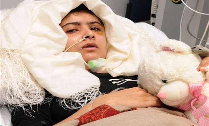 malala yousufzai making steady recovery begins to walk talk
