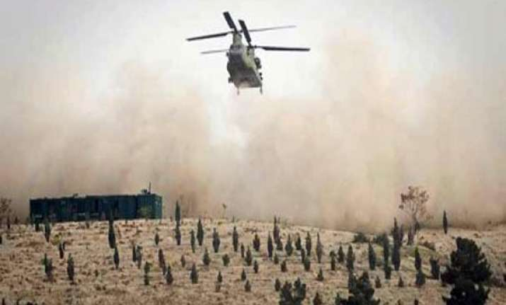 nato helicopter attacks pak army post