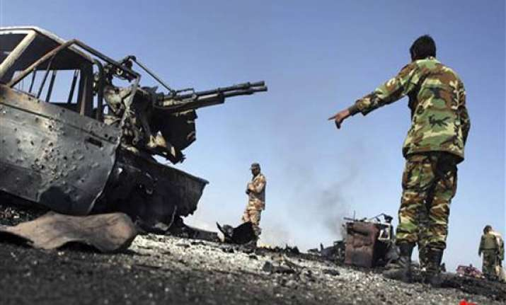 nato leaders vow to oust gaddafi libyan army pounds misurata