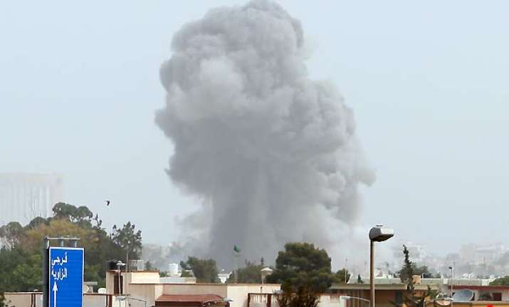 nato unleashes blistering airstrikes in libya