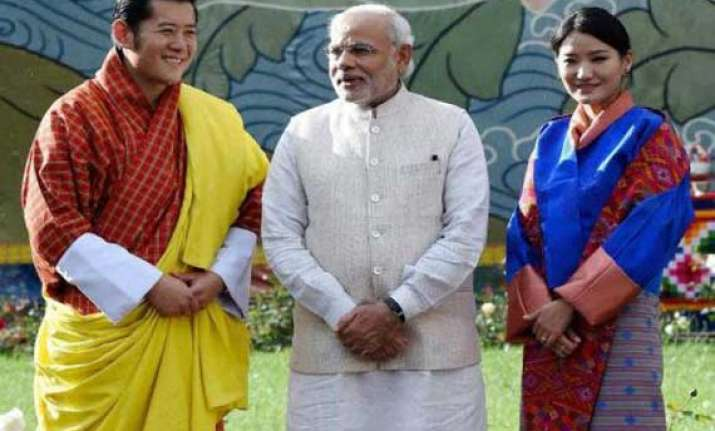 narendra modi says his inner voice made him choose bhutan