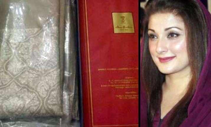 nawaz sharif s daughter thanks narendra modi for gift