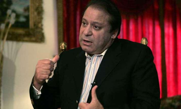nawaz sharif vows to resolve energy crisis