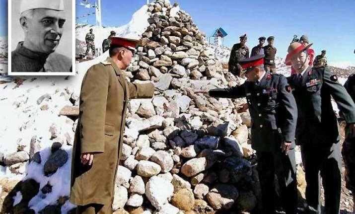 nehru allowed flights of us spy planes over tibet border