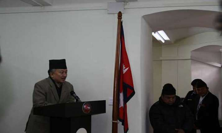 nepal elects chairman of constituent assembly