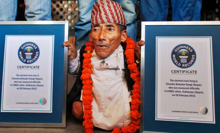nepalese man 72 declared shortest person ever
