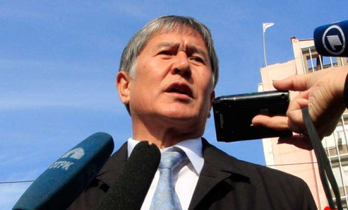 new kyrgyz president to take office in december