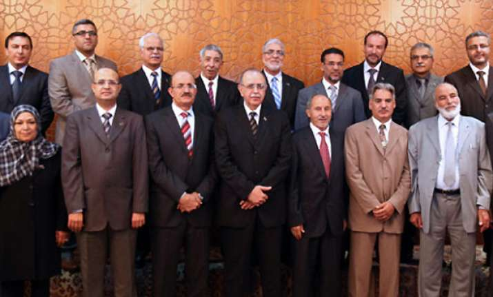 new libyan government sworn in