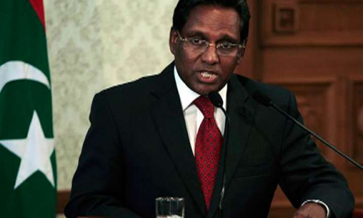 new maldives president calls for national unity govt