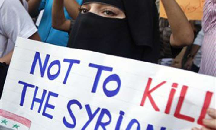 nine killed in syria crackdown activists