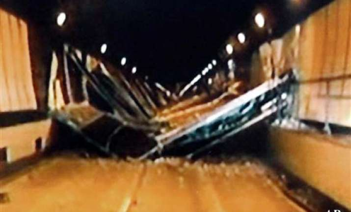 nine killed as highway tunnel ceiling collapses in japan