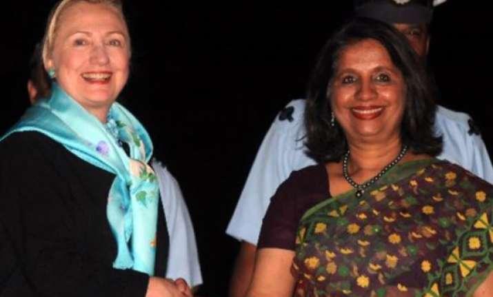 nirupama rao meets hillary clinton discusses range of