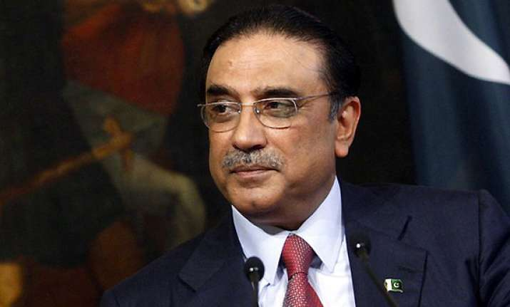 no action against zardari as long as he holds office says