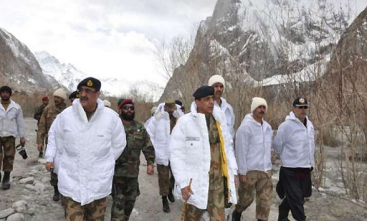 no change in stand on siachen issue says pakistan