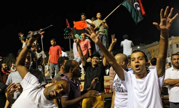 no sign of gaddafi as rebels overrun hq