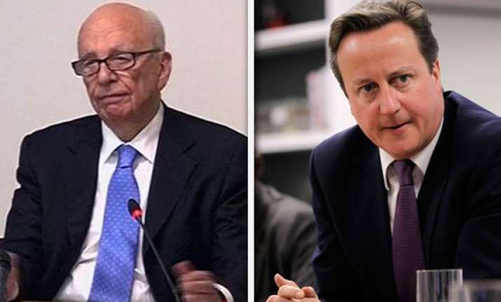 no deal with murdoch insists cameron