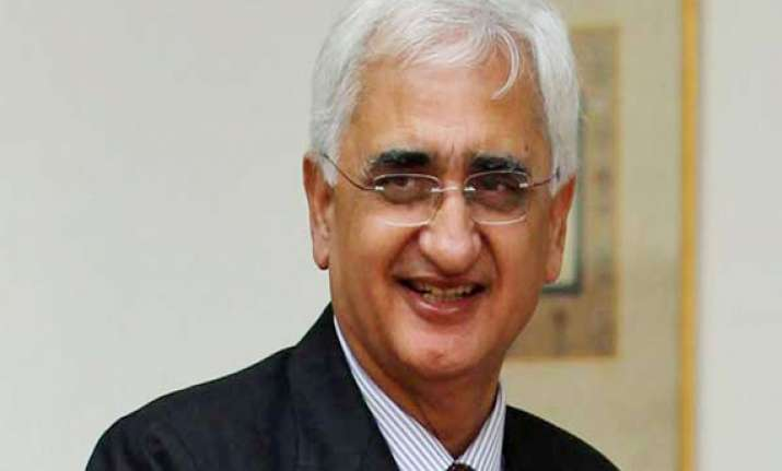 not in a hurry to resolve border issues with china khurshid
