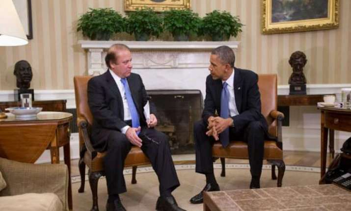 obama nawaz sharif vow cooperation as tensions ease