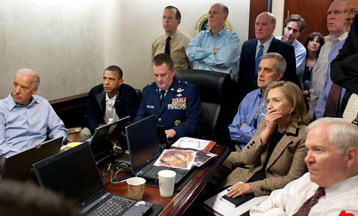 obama watched soundless video feed of abbottabad raid
