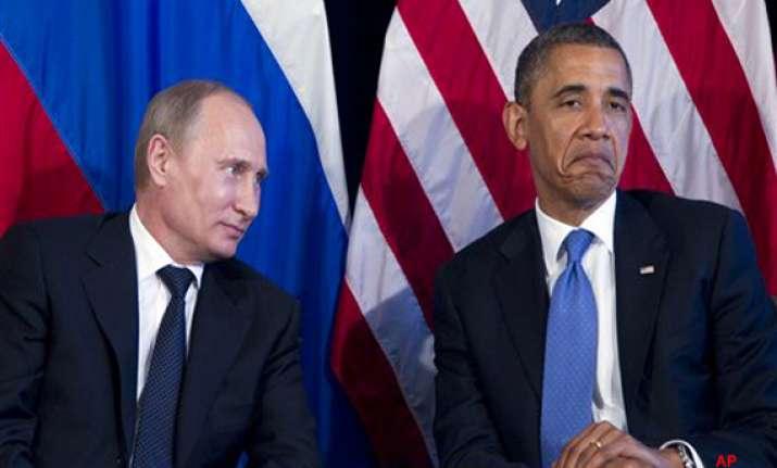 obama meets putin deadlock over syria
