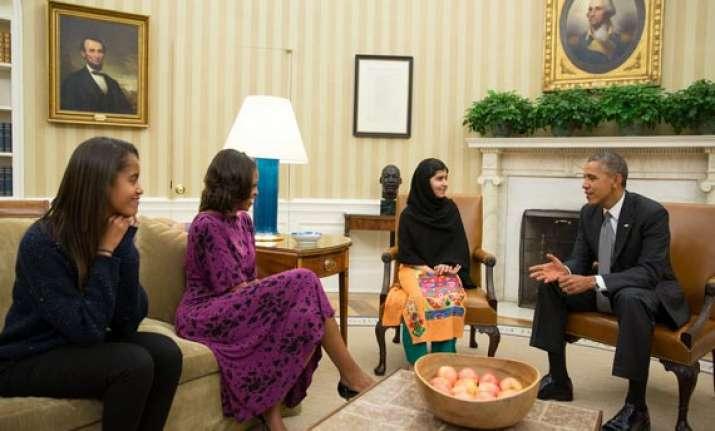 obamas thank malala yusufzai